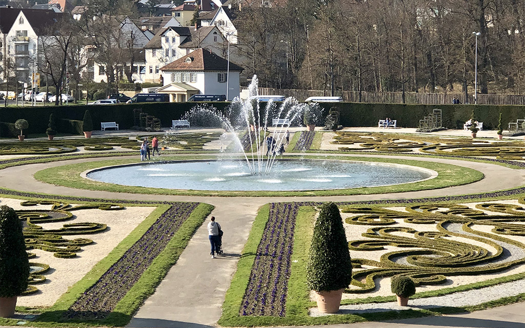palace grounds garden view ludwigsburg palace fairy tale gardens 2019